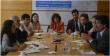 Representantes de las organizaciones presentes en la mesa de diálogo